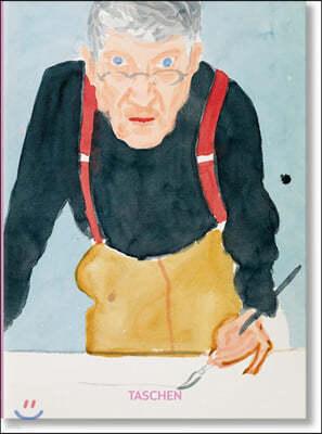 David Hockney. a Chronology. 40th Anniversary Edition 데이비드 호크니 : 타셴 창간 40주년 기념판