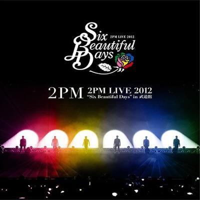 투피엠 (2PM) - Live 2012 'Six Beautiful Days' In Budokan (Blu-ray)