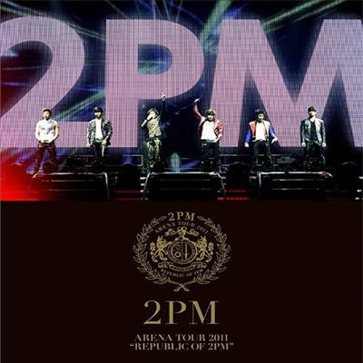 투피엠 (2PM) - Arena Tour 2011 'Republic Of 2PM' (Blu-ray)