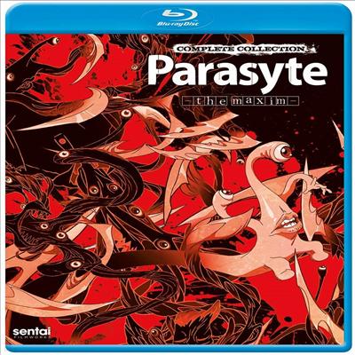 Parasyte: The Maxim - Complete Collection (기생수: 더 컴플리트 컬렉션) (2014)(한글무자막)(Blu-ray)