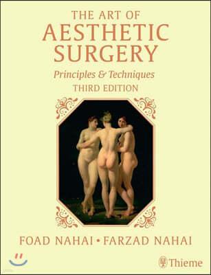 The Art of Aesthetic Surgery, Three Volume Set, 3/E