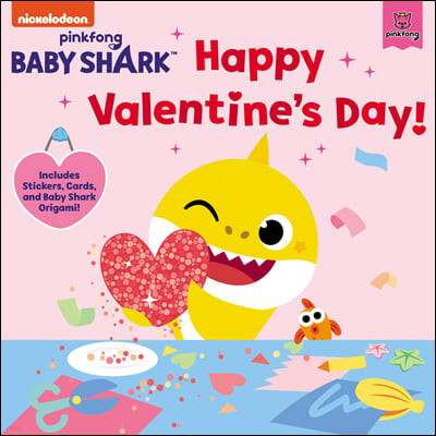 Baby Shark: Happy Valentine's Day! [With Stickers and Cards and Baby Shark Origami]