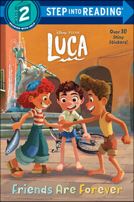 Step Into Reading 2 : Friends Are Forever (Disney/Pixar Luca)