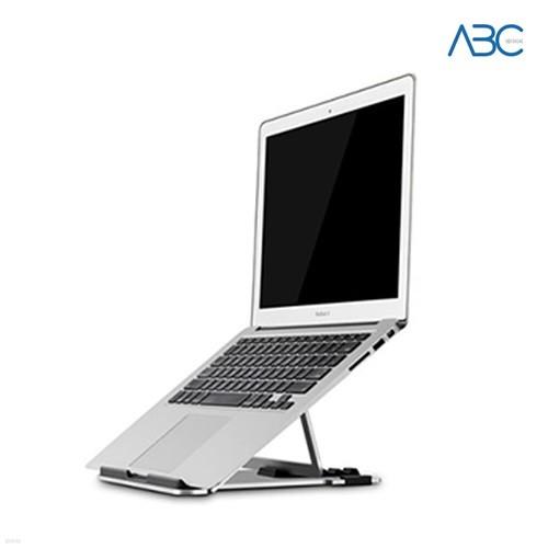 ABC 프리미엄 알루미늄 노트북 태블릿PC 각도조절 받침대 스탠드
