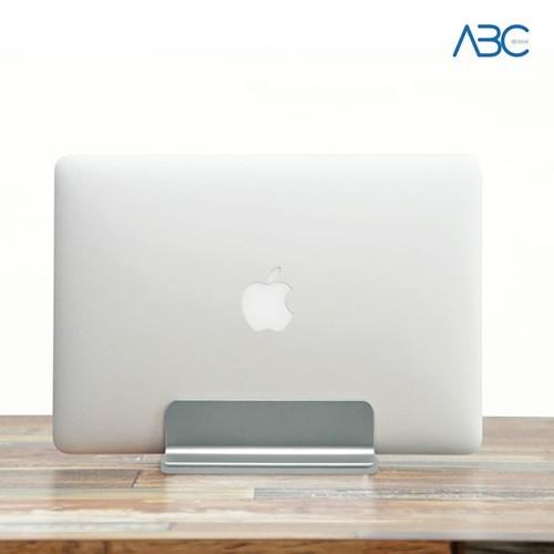 ABC 알루미늄 맥북 노트북 거치대 실버/티타늄