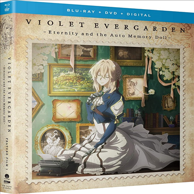 Violet Evergarden I: Eternity And The Auto Memory Doll (바이올렛 에버가든) (2019)(한글무자막)(Blu-ray)