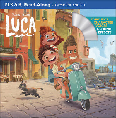 Luca Read-Along Storybook and CD : 디즈니 루카 리드얼롱 스토리북 (Book & CD)