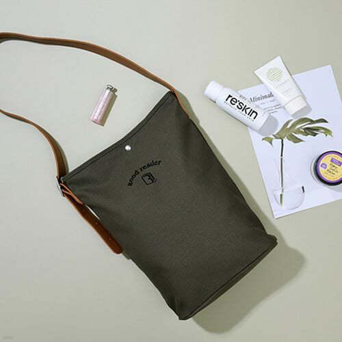 [예스베리굿즈] 굿리더를 위한 캔버스 BASIC BAG - 카키