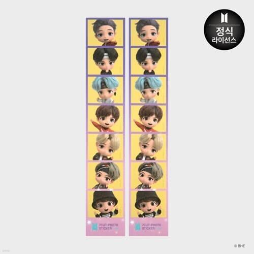 [BTS] TinyTAN 타이니탄 7컷 포토 스티커 Magic Door