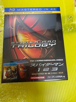 일본아마존 스파이더맨 4K 리마스터링 3부작 박스(모두 한글자막 지원)