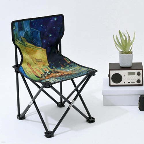 [예스베리굿즈] 독서가의 캠핑의자 - 고흐