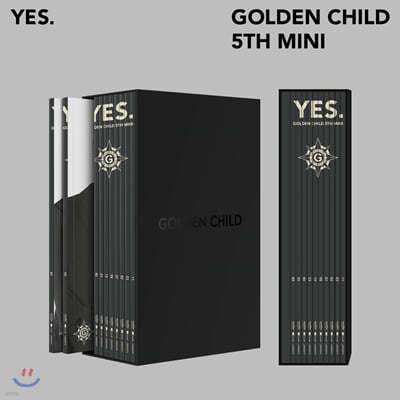 골든차일드 (Golden Child) - 미니앨범 5집 : YES. [10종 세트]