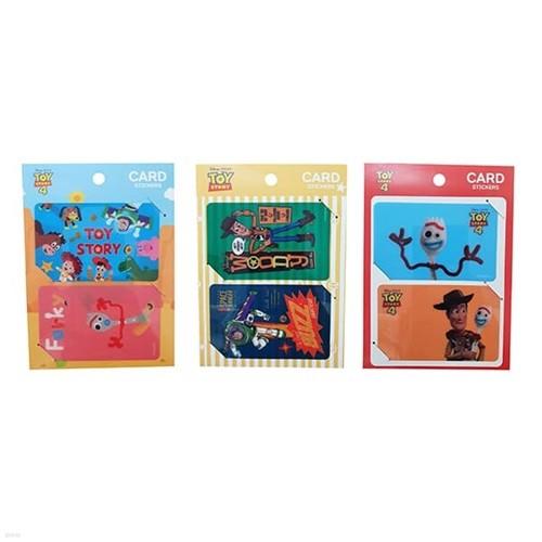 토이스토리 카드 스티커 (3 option)