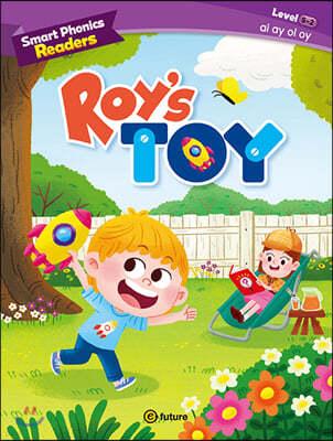 Smart Phonics Readers 5-2 : Roy's Toy