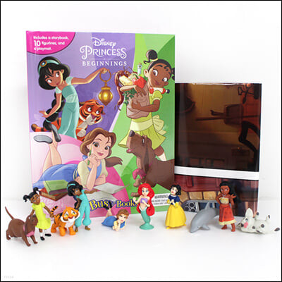 Disney Princess Beginnings My Busy Books 디즈니 프린세스 비기닝 아기 공주 비지북