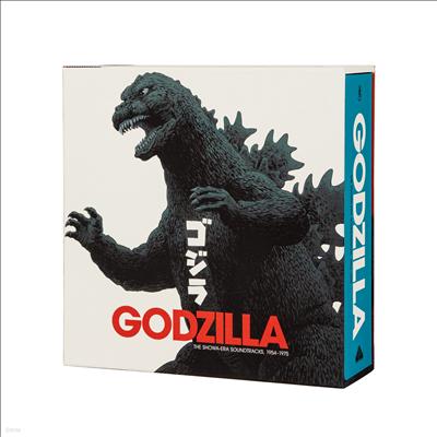 O.S.T. - Godzilla: The Showa-Era Soundtracks 1954-1975 (고질라 : 쇼와 시대 1954-1975) (Soundtracks)(18LP Box Set)