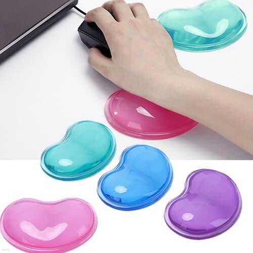 OMT 실리콘 손목보호 쿠션 마우스패드 손목받침대 4color