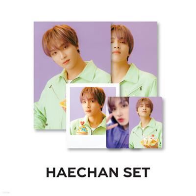 [HAECHAN SET_NCT DREAM] 2021 SG PHOTO PACK
