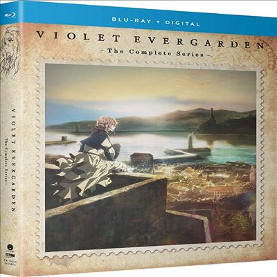 Violet Evergarden: The Complete Series (바이올렛 에버가든: 더 컴플리트 시리즈)(한글무자막)(Blu-ray)