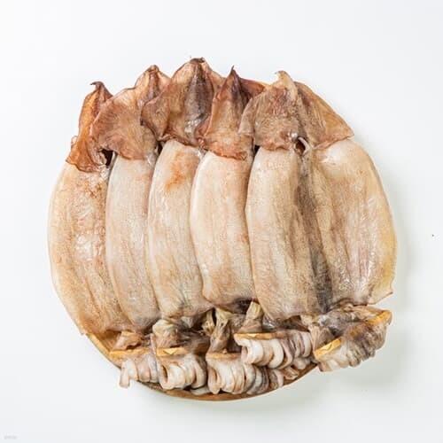 [청정바다] 원양산 반건조 오징어1.1kg 내외 피데기