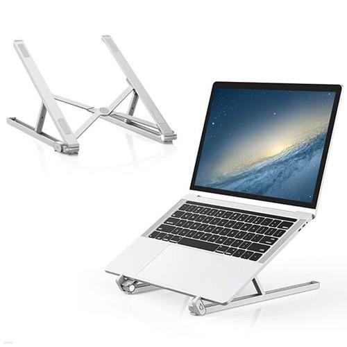 스틸리 알루미늄 노트북거치대 받침대 태블릿 맥북 쿨러 휴대용 접이식 스탠드 거치대 STEELIE-X2