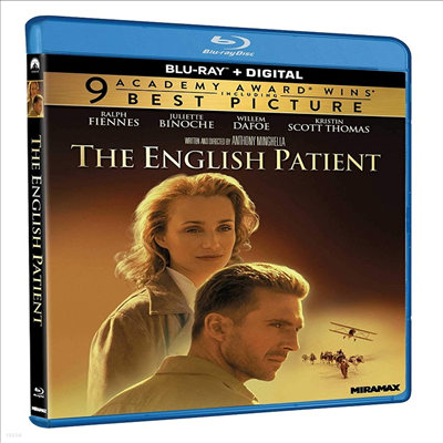 The English Patient (잉글리쉬 페이션트) (1996)(한글무자막)(Blu-ray)
