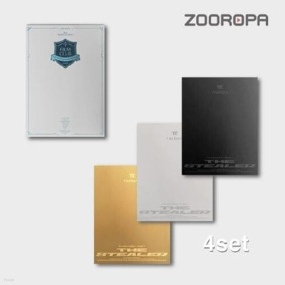 [미개봉/4종세트] 더보이즈 The Boyz 2021 시즌그리팅 5집 CHASE