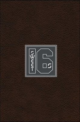 Sweet 16s: Hardcover Rap Notebook Journal For Rappers, Lyrics and Writers - 112 pages and 7x10 Songwriting Journal - Dark Leather