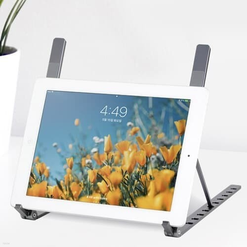 타블릿-노트북 스탠드거치대(MOG-103/다크그레이/NOTECASE)