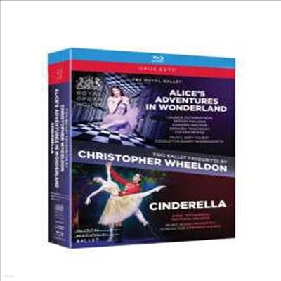크리스토퍼 월던의 두 편의 발레 컬렉션 - 이상한 나라의 앨리스 & 신데렐라 (Two Ballet Favourites by Christopher Wheeldon - Alice's Adventures in Wonderland & Cinderella) (2Blu-ray) (2017)(Blu-ray) - Chr