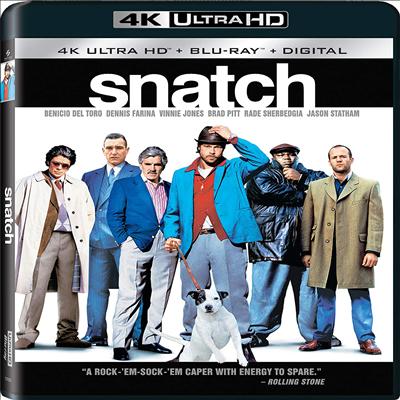 Snatch (스내치) (4K Ultra HD)(한국어 자막 지원)