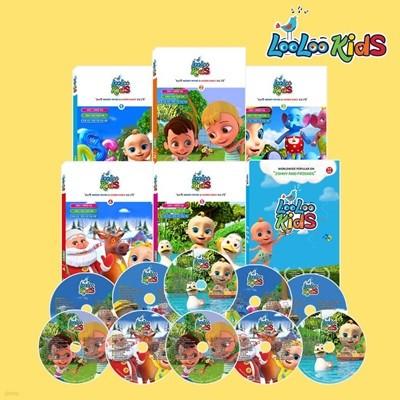 루루키즈 DVD[Loo Loo Kids/Johny & Friends Kids Song]_총11종/영어 키즈송/영한가사집 포함