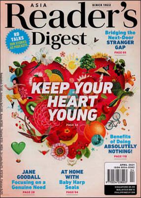 Reader's Digest Asia (월간) : 2021년 04월