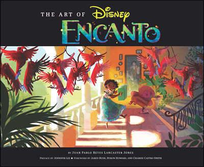 Art of Encanto 디즈니 엔칸토 : 마법의 세계 공식 컨셉 아트북