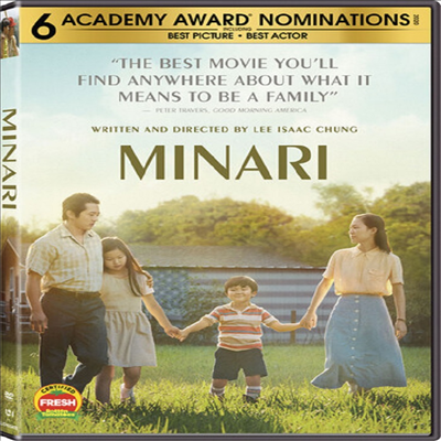 Minari (미나리)(지역코드1)(한글무자막)(DVD)