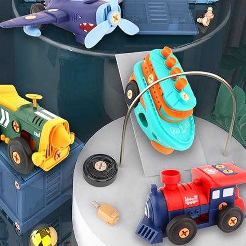 레츠토이 DIY 전동 레트로 만들기 유아 공구놀이세트 장난감
