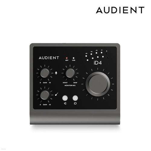 오디언트 Audient iD4 MK2 홈레코딩 오인페 인터넷방송 오디오인터페이스