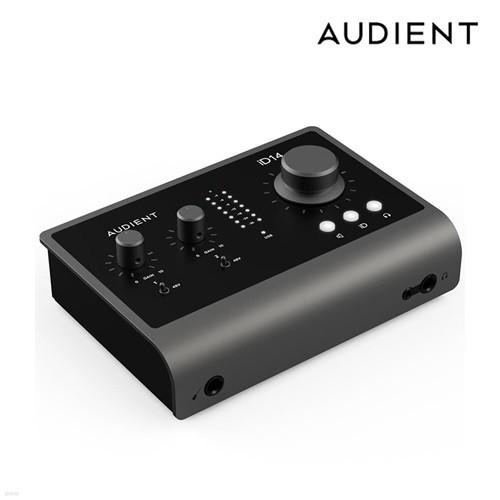 오디언트 Audient iD14 MK2 홈레코딩 오인페 인터넷방송 오디오인터페이스