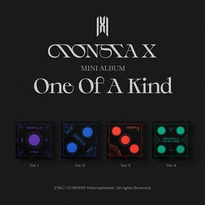 몬스타엑스 (MONSTA X) - 미니앨범 9집 : ONE OF A KIND [SET]