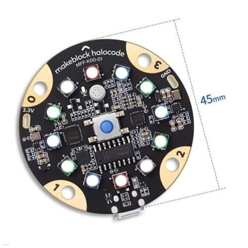 메이크블럭 할로코드 인공지능 IoT 무선 단일보드 컴퓨터 ESP32 내장
