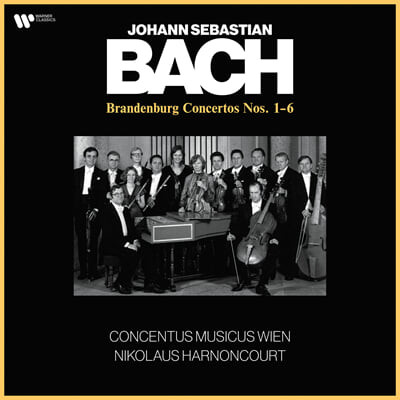 Nikolaus Harnoncourt 바흐: 브란덴부르크 협주곡 (J.S.Bach: Brandenburg Concertos BWV1046-1051) [2LP]