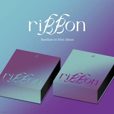 뱀뱀 (BamBam) - 미니앨범 1집 : riBBon [SET]