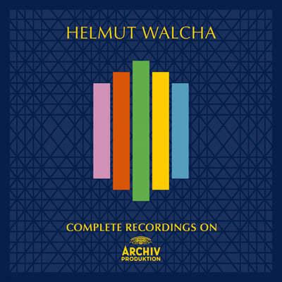 헬무트 발햐 DG, 필립스, Archiv 녹음 전집 (Helmut Walcha - Complete Recordings On Archiv Produktion)