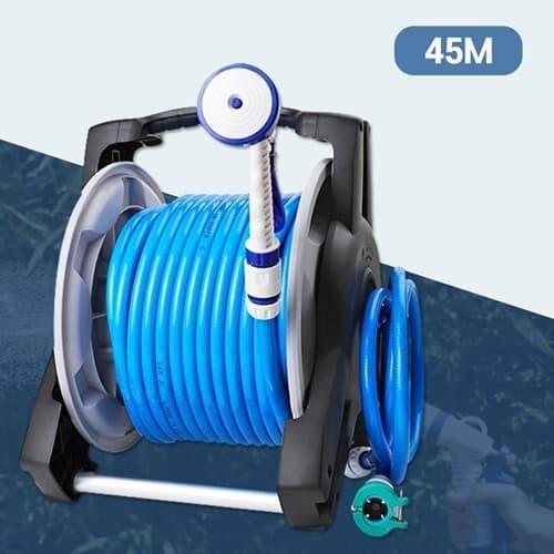 세차 원예 물청소 4기능 강력분사 파워풀 호스릴 45m