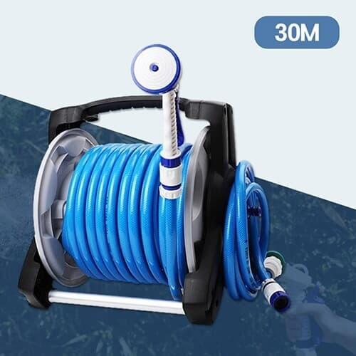 세차 원예 물청소 4기능 강력분사 파워풀 호스릴 30m