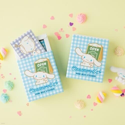 [Sanrio] 시나모롤 미니박스 스티커