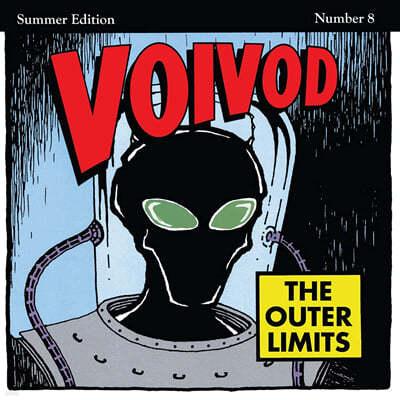 Voivod (보이보드) - The Outer Limits [로켓 파이어 레드 & 블랙 스모크 컬러 LP]