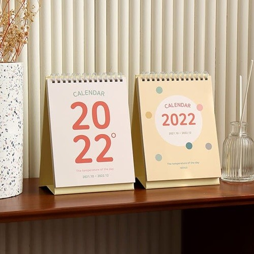 2022 오늘의 온도 탁상 달력 (데스크 캘린더)