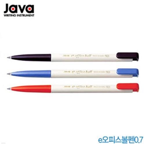 자바 e-오피스볼펜0.7mm  1타(24개입)  300e오피스볼펜 J