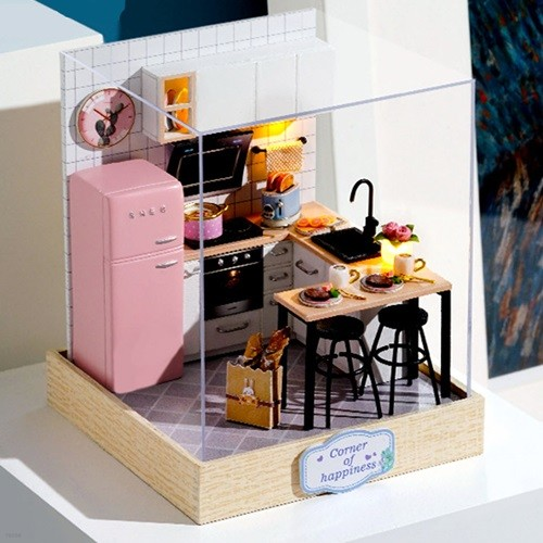[adico] DIY 미니어처 스페셜 키트 - 주방